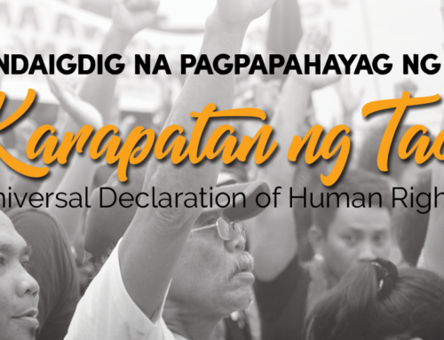 Explainer: Ano ang Universal Declaration of Human Rights?