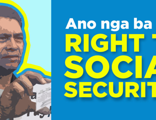 EXPLAINER: Ano nga ba ang Right to Social Security?