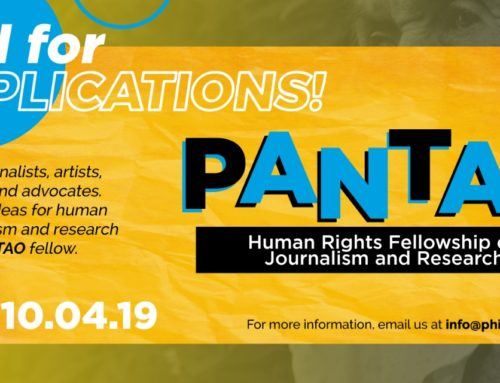 Call for Applications: PANTAO Human Rights Fellowship on Journalism and Research