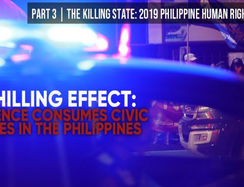 A Chilling Effect: Violence Consumes Civic Spaces in the Philippines